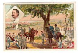 Chromo Suchard, Serie 77 / 10, Militaire, Bataille, Santiago De Cuba, 1898 - Suchard