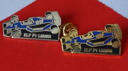 PIN'S   LOT    F 1  LIGIER   ELF - F1