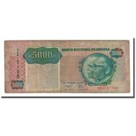 Billet, Angola, 5000 Kwanzas, 1991-02-04, KM:130b, TB - Angola