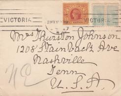 Victoria Cover 1890 - Oblitérés