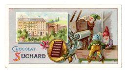 Chromo Suchard, Serie 83 / 3, Nains, Zwerge, Usine, Fabrik Suchard à Neuchêtel, Suisse - Suchard