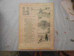 FABLES DE LA FONTAINE BENJAMIN RABIER 1906 L'AVARE QUI A PERDU SON TRESOR ET L'ORACLE ET L'IMPIE - Old Paper