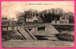 Cp En FM - Petite Synthe - Le Pont à Curé - Edit. DERLEY CARPENTIER - 1915 - Oblit. 1er Régiment D'Infanterie - Autres Communes