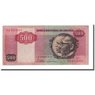 Billet, Angola, 500 Kwanzas, 1987-11-11, KM:120b, TTB - Angola