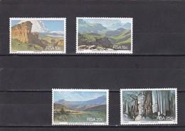 Africa Del Sur Nº 453 Al 456 - África Del Sur (1961-...)