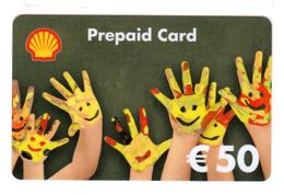 Shell Prepaid Plastic  Gift Card 01 - Gift Cards