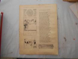 FABLES DE LA FONTAINE BENJAMIN RABIER 1906 LE VIEILLARD ET SES ENFANTS ET PAROLE DE SOCRATE - Old Paper