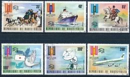 Michel 517-522 OBERVOLTA - Jubiläumskogress UPU - Kompletter Satz - Haute-Volta (1958-1984)