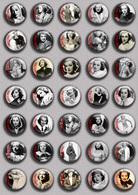 Frances Drake Movie Film Fan ART BADGE BUTTON PIN SET   (1inch/25mm Diameter) 35 DIFF - Kino