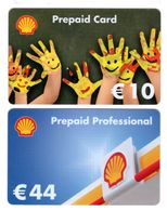 Shell Prepaid Plastic  Gift Card 06 - Gift Cards