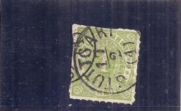 ALLEMAGNE - Wurtenberg - 1 K Vert Jaune - N°36 - Côte 2.50€ - Wuerttemberg
