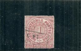 ALLEMAGNE   Confédération Nord - N° 4 Côte 2€ - Norddeutscher Postbezirk