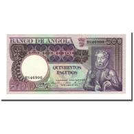 Billet, Angola, 500 Escudos, 1973-06-10, KM:107, NEUF - Angola