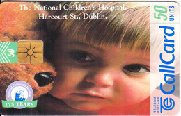 "IRELAND - The National Children""s Hospital, Chip GEM1.2, Tirage %50000, 10/97, Used - Ireland"