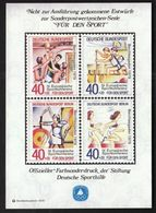 Germany 1979 / European Sport Conference / Archery Athletics, Rowing, Volleyball / For Sport / Farbsonderdruck - Tir à L'Arc