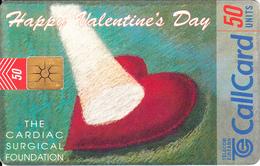 "IRELAND - Happy Valentine""s Day, Chip GEM1.2, Tirage %50000, 02/97, Used - Ireland"