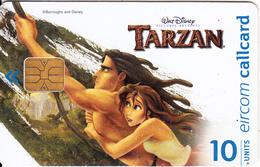 IRELAND - Disney/Tarzan 3, Tirage 75000, Used - Ireland
