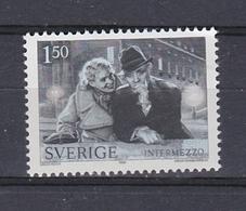 CINEMA KINO FILM MOVIE INGRID BERGMAN GÖTA EKMAN INTERMEZZO SWEDEN 1981 MNH MI 1169 - Kino