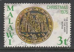 Malawi 1975 Christmas - Religious Medallions Used - Malawi (1964-...)