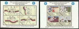 Germany 1982 / Archery, Athletics, Volleyball / For Sport / Sporthilfe / Farbsonderdruck, Color Proof - Tir à L'Arc