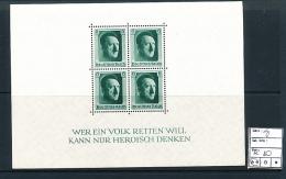GERMANY YVERT MS 8 MNH - Deutschland