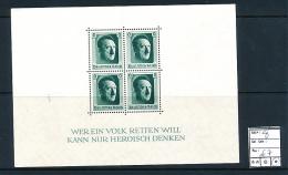 GERMANY YVERT MS 8 LH - Deutschland