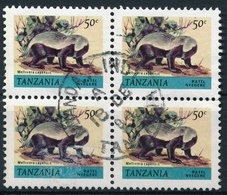 Tansania - Michel 164A II - Honigdachs - Bildhöhe 16mm - Tanzanie (1964-...)