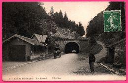 Col De Bussang - Le Tunnel - Limite Du Territoire Français à 33m De L'origine Du Tunnel - Douanier - ND PHOT - 1913 - Col De Bussang
