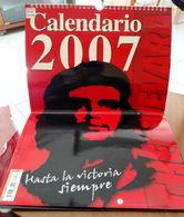 CALENDARIO 2007 CHE GUEVARA DIMENSIONI CM 42,5x29 - Calendari