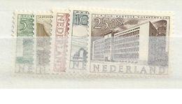1955 MNH Nederland, Nvph 655-59 Architectuur, Posffris - 1949-1980 (Juliana)