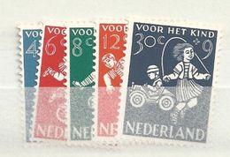 1958 MNH Nederland, Nvph 715-19, Kinderzegels, Posffris - 1949-1980 (Juliana)