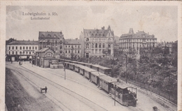 ALLEMAGNE LUDWIGSHAFEN A. RH. LOKALBAHNHOF BELLE CARTE RARE !!! - Ludwigshafen