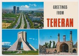 IRAN TEHERAN  Meter/freistempel/ema 1977 Stamp Cancel   On Postcard - Iran