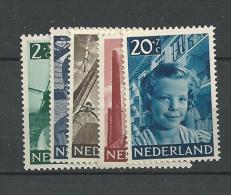 1951 MNH  Nederland, Niederlande, Netherlands, Pays-Bas,  Postfris - 1949-1980 (Juliana)