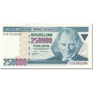 Billet, Turquie, 250,000 Lira, 1998-2006, Old Date 1970-10-14, KM:211, NEUF - Turquie