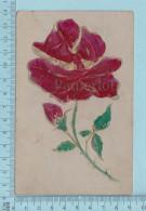Austria - Rose Embossé -  CPA   Postcard Carte Postale - Fleurs