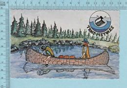 Trois-pistoles Quebec - Histoire Du Nom De Trois-Pistoles à L'arriere -  Postcard Carte Postale - Histoire