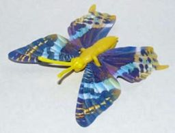 K328 / Kinder Série Papillons / Papillon, Corps Jaune / Ref: K01-26 - Montables