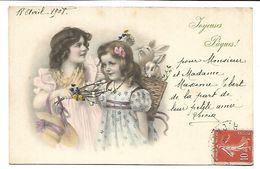 JOYEUSES  PAQUES - Enfants - Illustrateur MM VIENNE 370 - Vienne