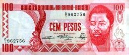 Guinea Bissau 100 Pesos, P-6 (22.2.1983) - VF - Guinea-Bissau