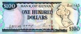 Guyana 100 Dollars, P-31 (1999) - UNC - Guyana