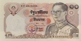 Thailand 10 Bath, P-87 (signature 56) - UNC - Thailand