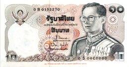 Thailand 10 Bath, P-98 (1995) - UNC - Thailand