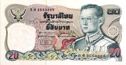 Thailand 20 Bath, P-88 (signature 60) - UNC - Thailand