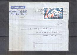 Aerogramme From Nigeria To Belgium - 1969 (to See) - Nigeria (1961-...)