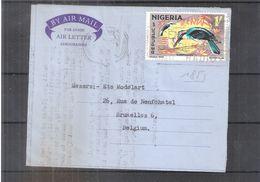 Aerogramme From Nigeria To Belgium - 1973 (to See) - Nigeria (1961-...)