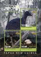 Papua New Guinea. 2018. Rare Birds (MNH OG **) Miniature Sheet - Papouasie-Nouvelle-Guinée