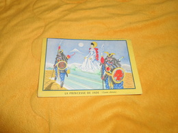 BUVARD DECOUPE ANCIEN DATE ?. /  LA PRINCESSE DE JADE CONTE CHINOIS. / ILLUSTRATEUR RIKY.. - Vloeipapier