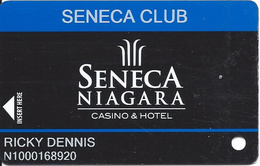 Seneca Niagara Casino - Niagara Falls, NY - Slot Card - Casino Cards