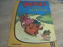 Petzi 13  Petzi Et Le Detective - Petzi